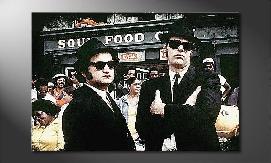 El cuadro Blues Brothers Moment