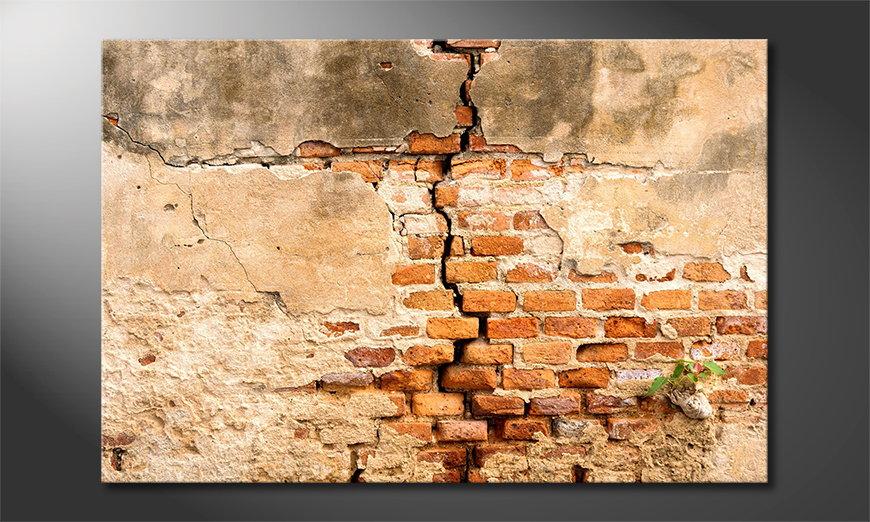 El cuadro Broken Wall