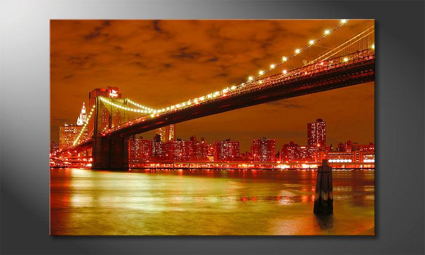 El cuadro Brooklyn Bridge