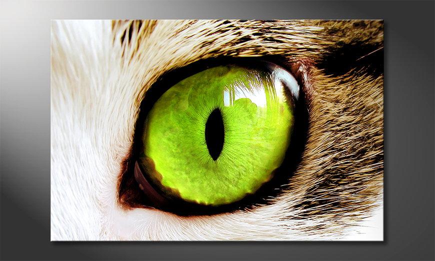 El cuadro Cats Eye