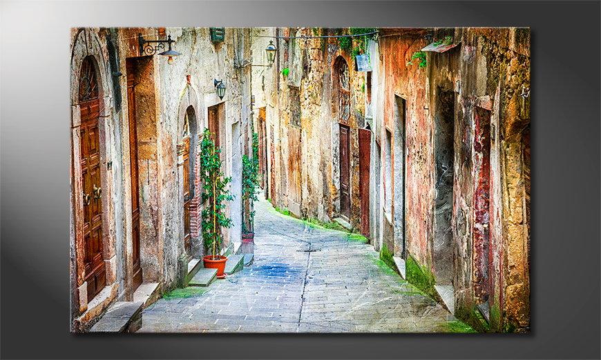 El cuadro Charming Alley
