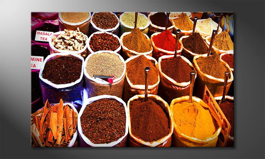 El cuadro Colorful Spices