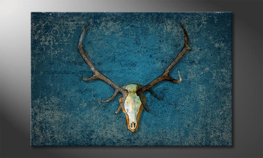 El cuadro Deer Head