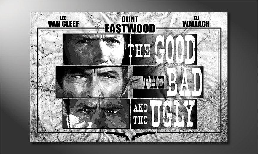 El cuadro El bueno, el malo y el feo
