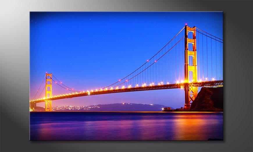 El cuadro Golden Gate