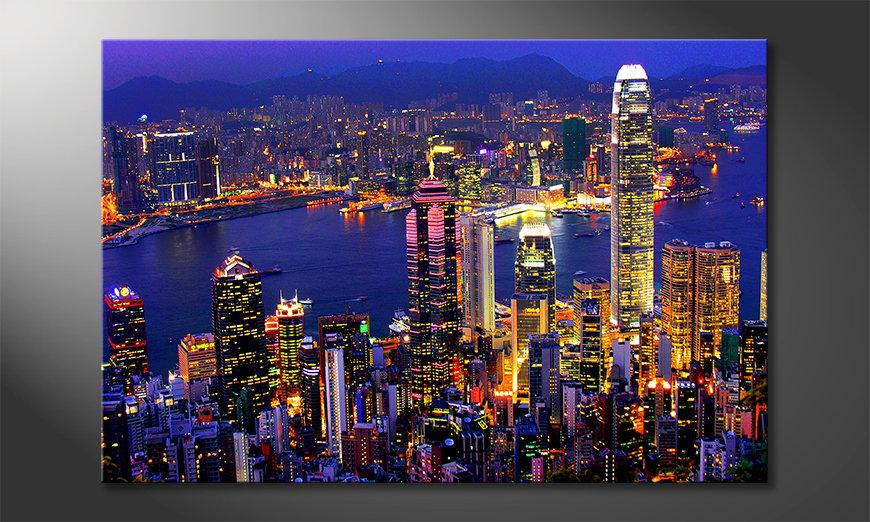 El cuadro Hongkong View