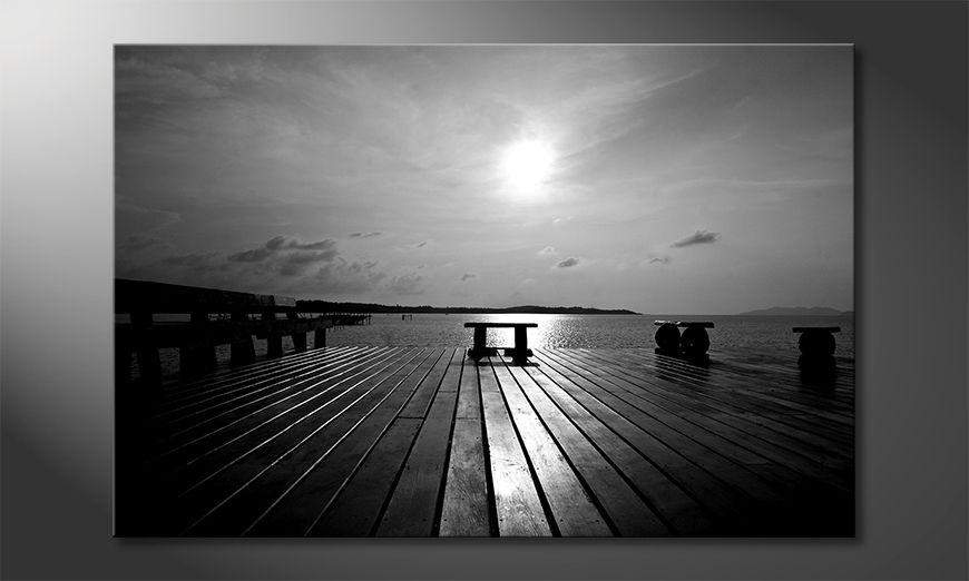 El cuadro Lake View