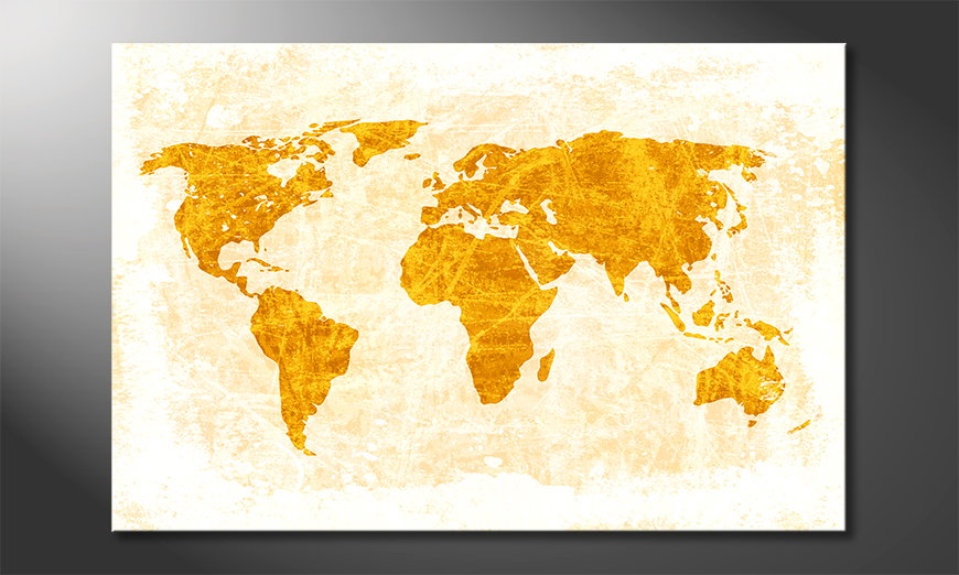 El cuadro Mapa del Mundo 7