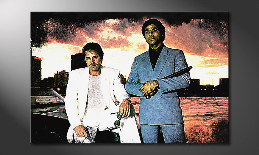 El cuadro Miami Vice Moment