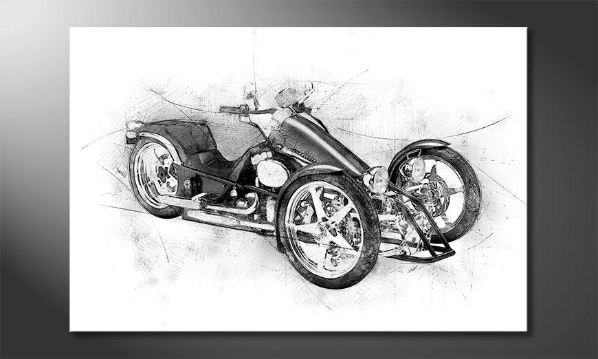 El cuadro Motorcycle Five