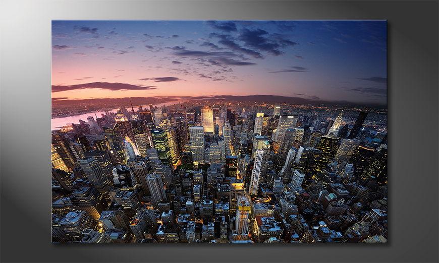 El cuadro New York Sky
