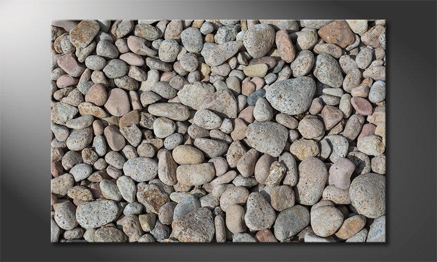 El cuadro Pebbles Stones