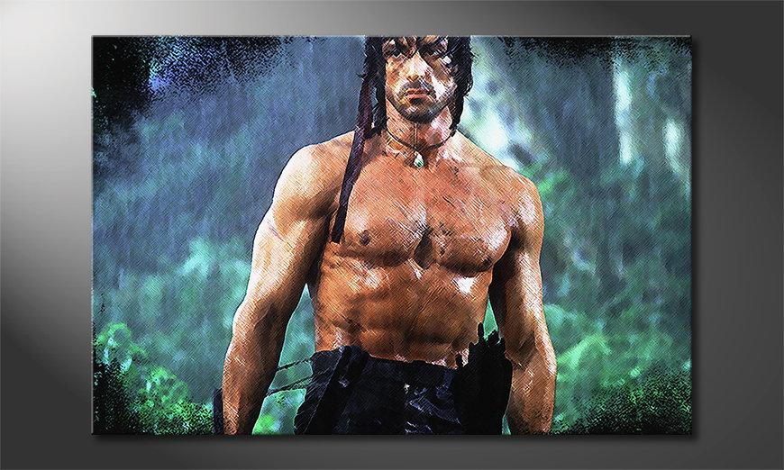 El cuadro Rambo Moment