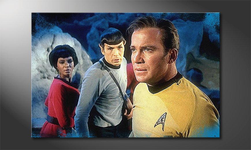 El cuadro Star Trek Enterprise 120x80x2cm