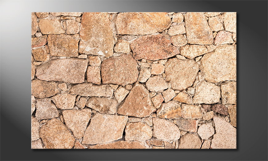 El cuadro Wall of Stones