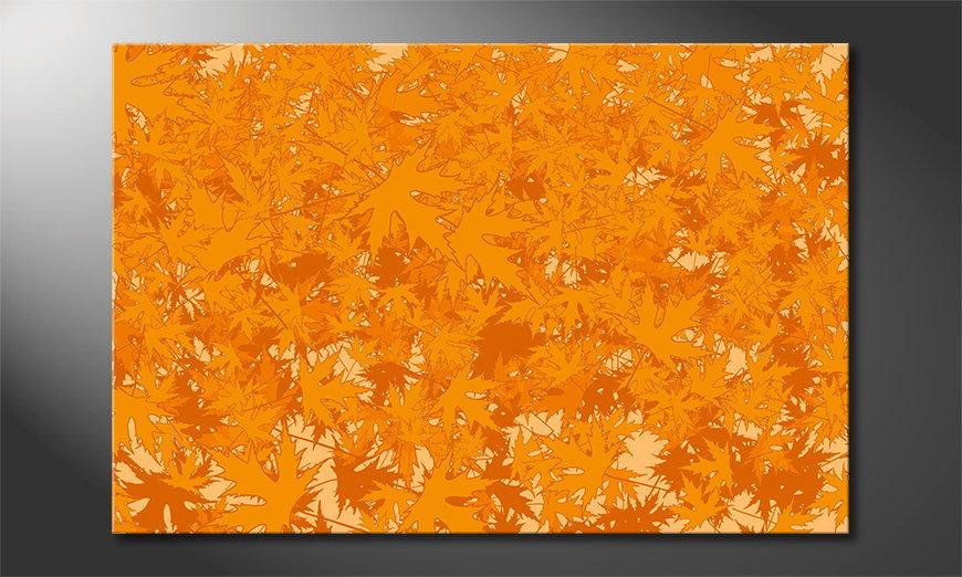 El cuadro abstracto Ahorn
