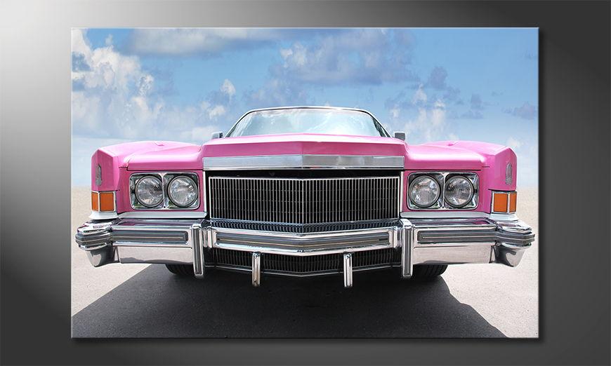 El cuadro de culto Pink Cadillac