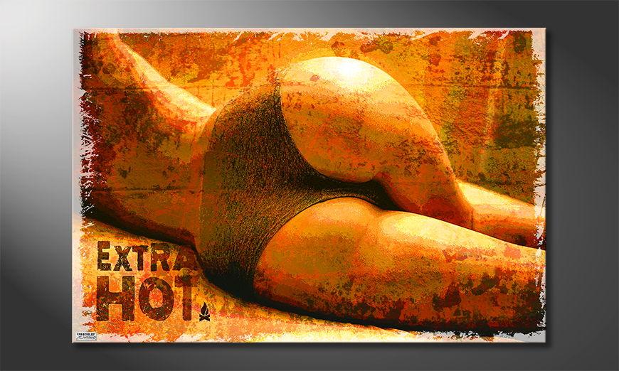 El cuadro erótico Extra Hot