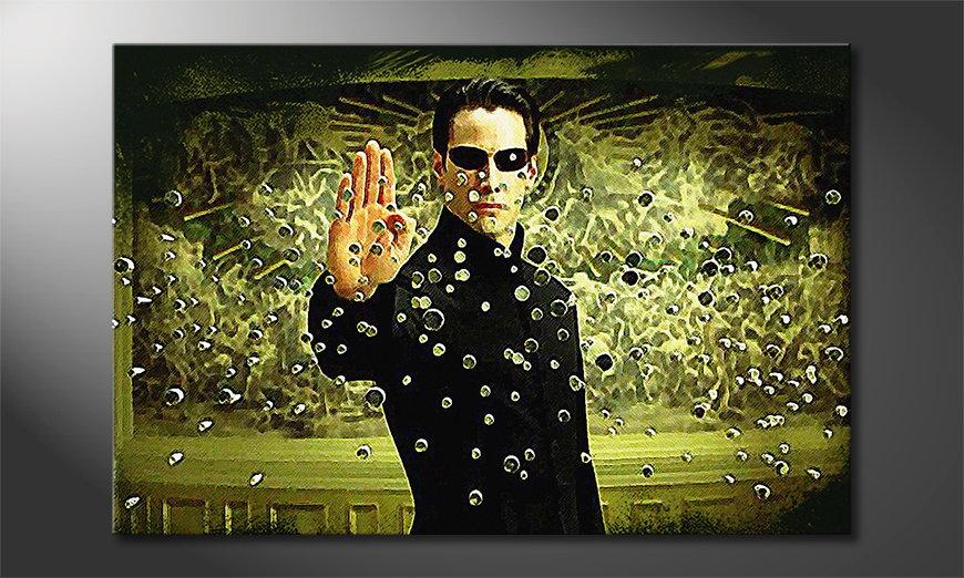 El cuadro impreso Matrix Moment
