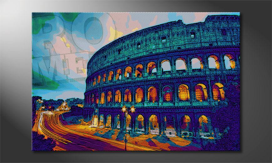 El cuadro impreso Rom