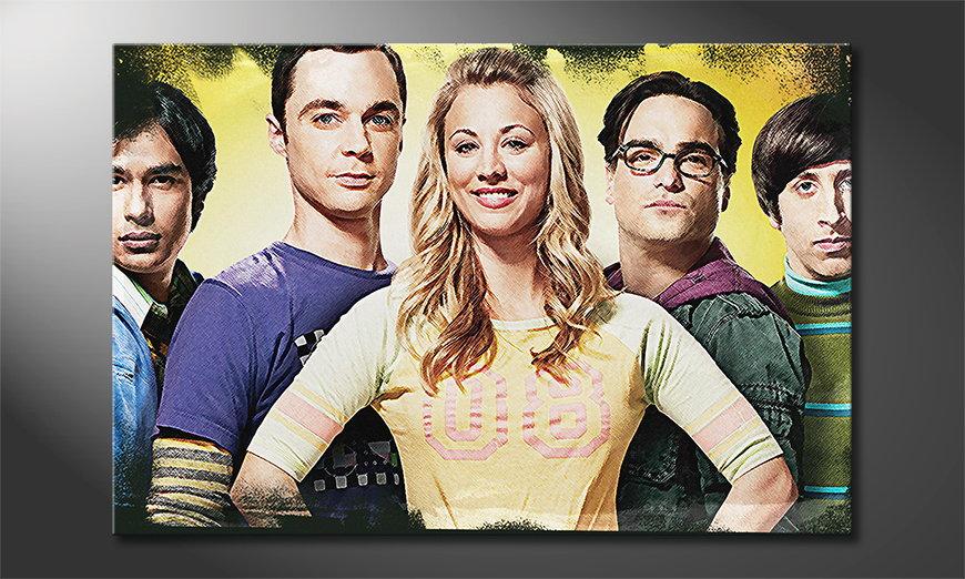 El cuadro impreso The Big Bang Theory