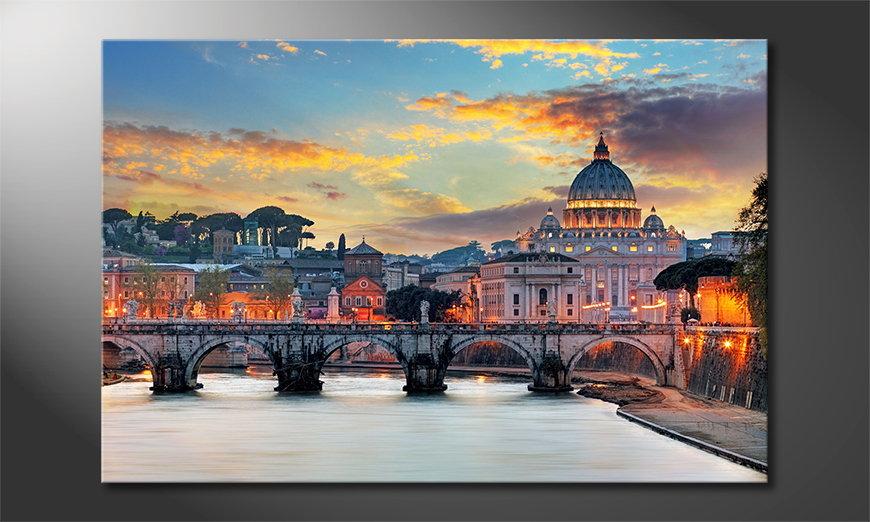 El cuadro impreso Vatican