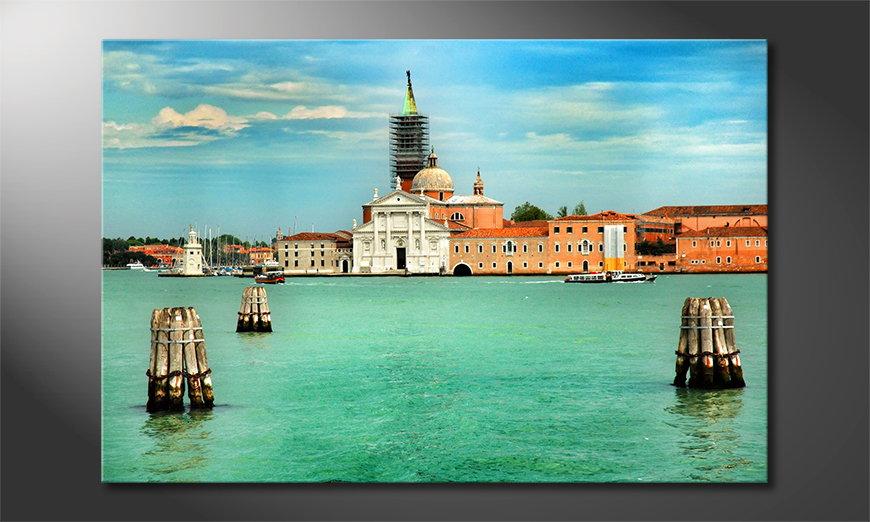 El cuadro impreso Venice