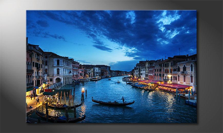 El cuadro impreso Venice Sunset