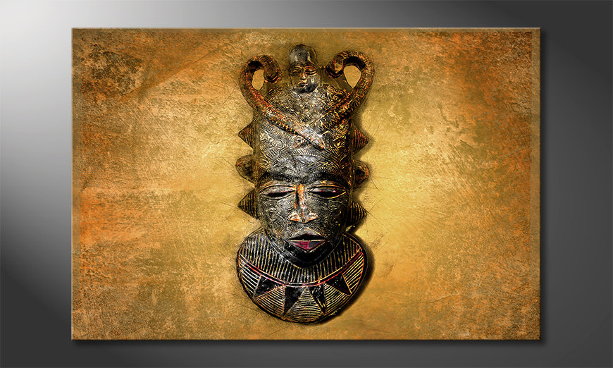 El cuadro moderno African Mask