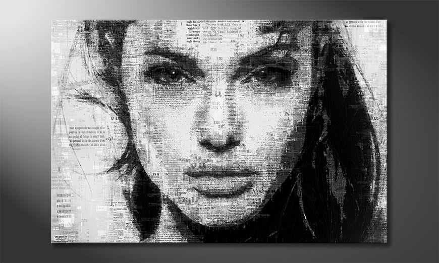 El cuadro moderno Angelina