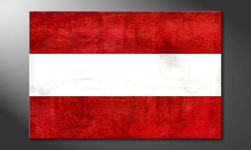 El cuadro moderno Austria