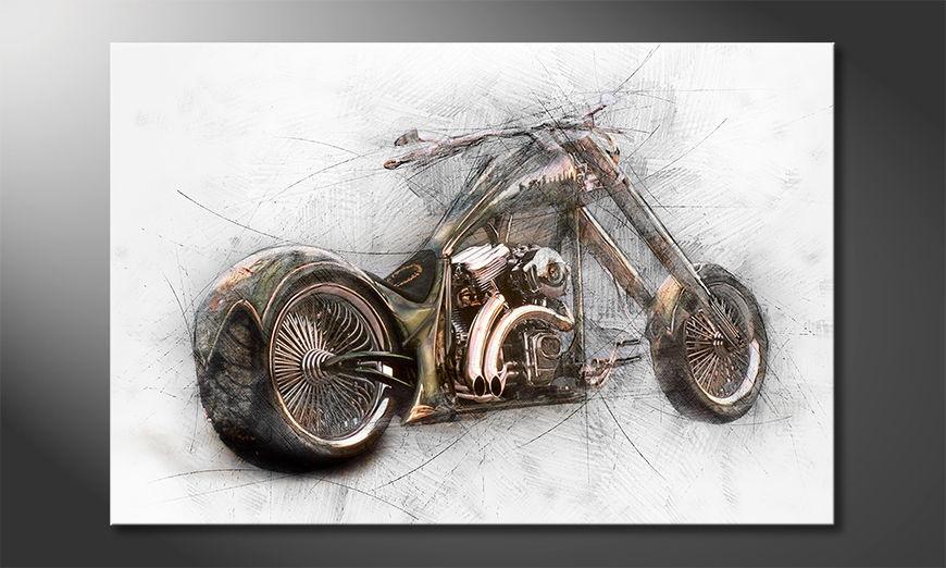 El cuadro moderno Bad Bike