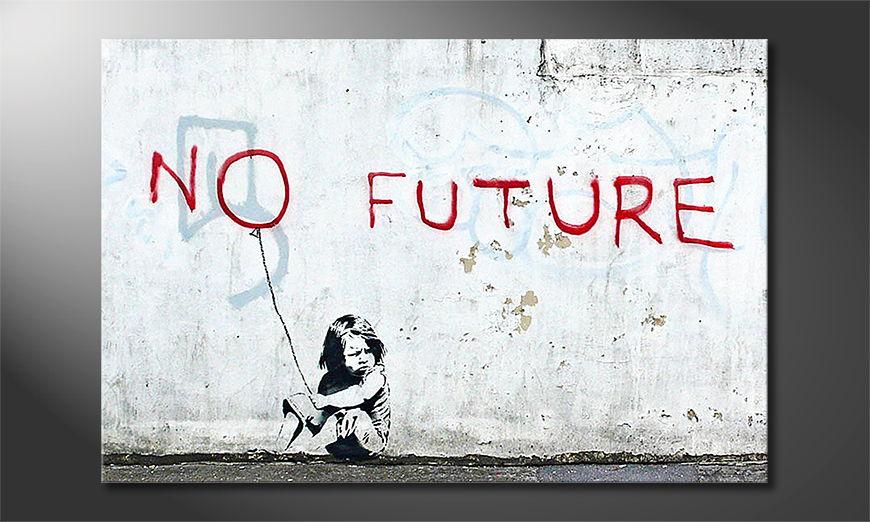 El cuadro moderno Banksy No10