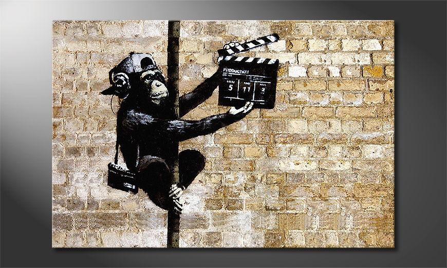 El cuadro moderno Banksy No13