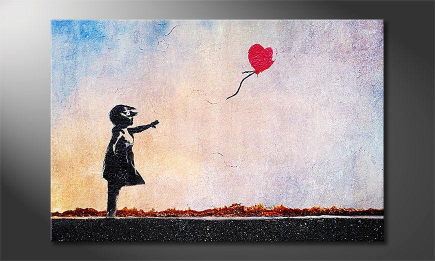 El cuadro moderno Banksy No14