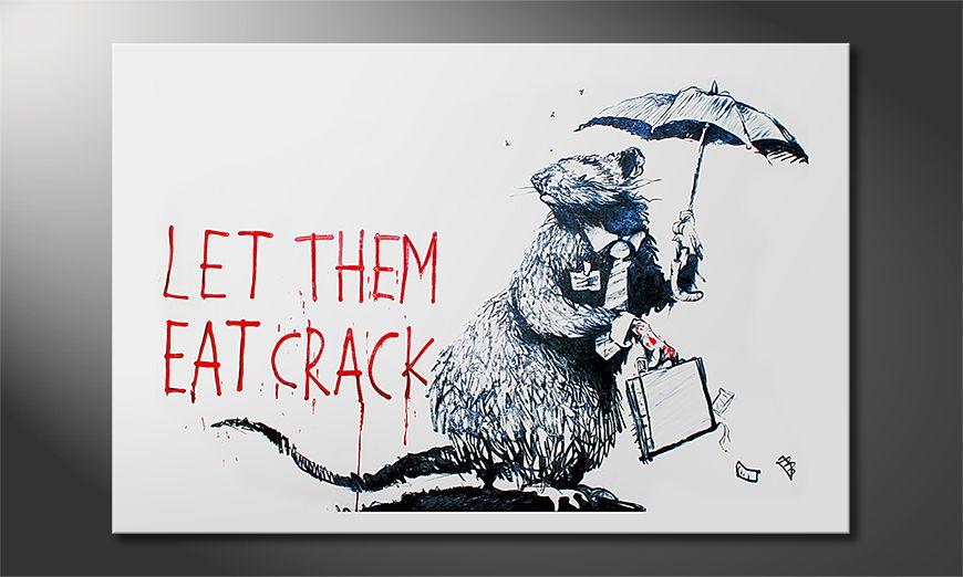 El cuadro moderno Banksy No16