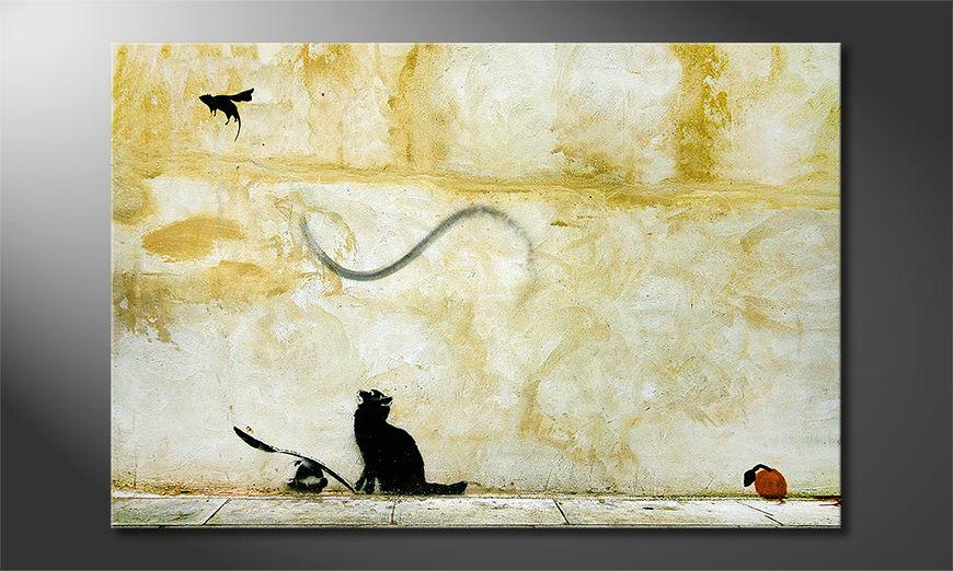 El cuadro moderno Banksy No8