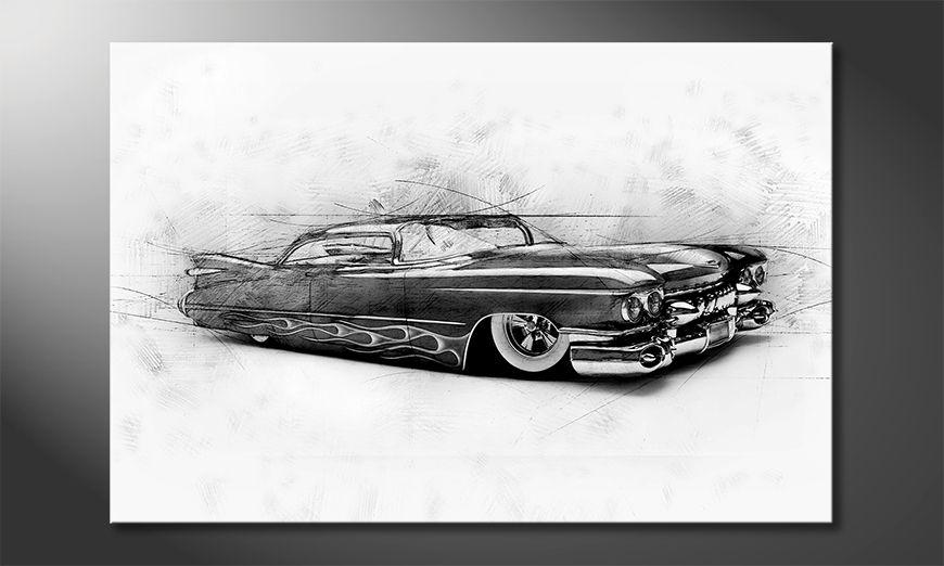 El cuadro moderno Beauty Cadillac