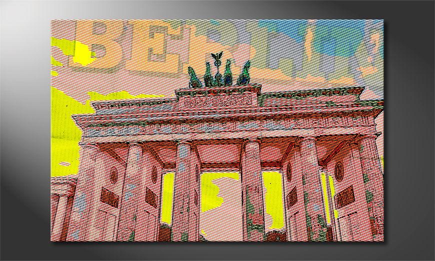 El cuadro moderno Berlín
