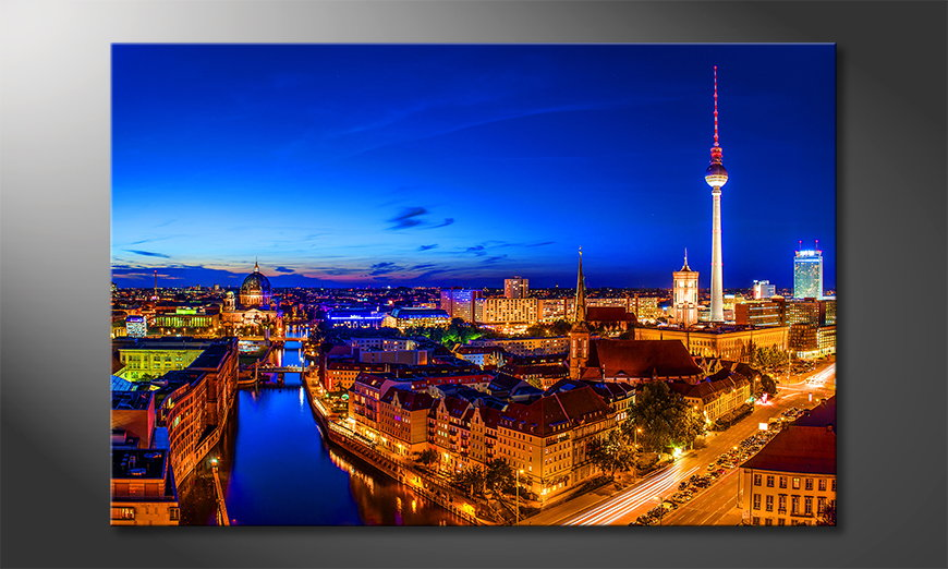 El cuadro moderno Berlin City