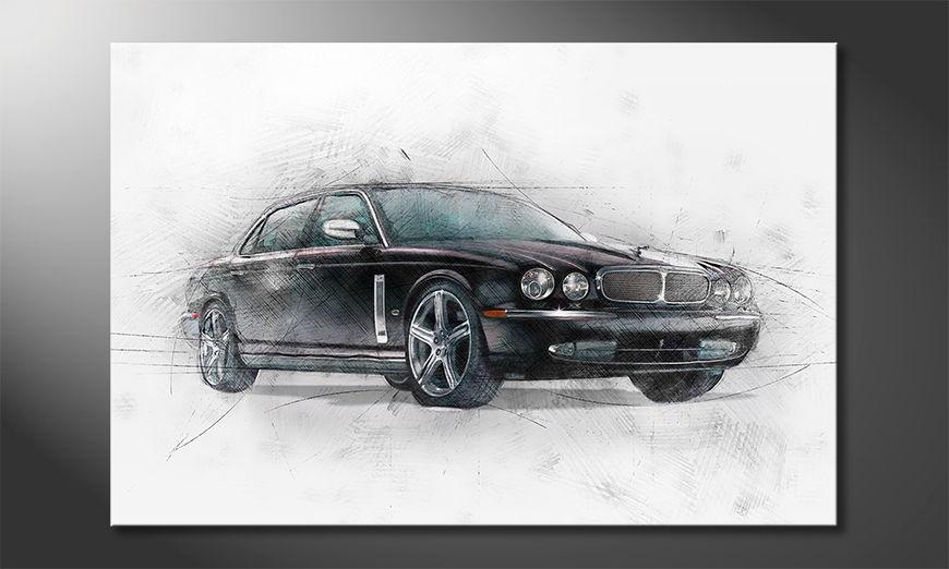 El cuadro moderno Black Jag
