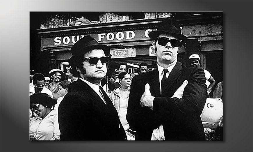El cuadro moderno Blues Brothers