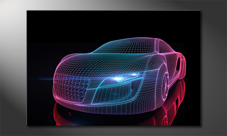 El cuadro moderno Car from Future