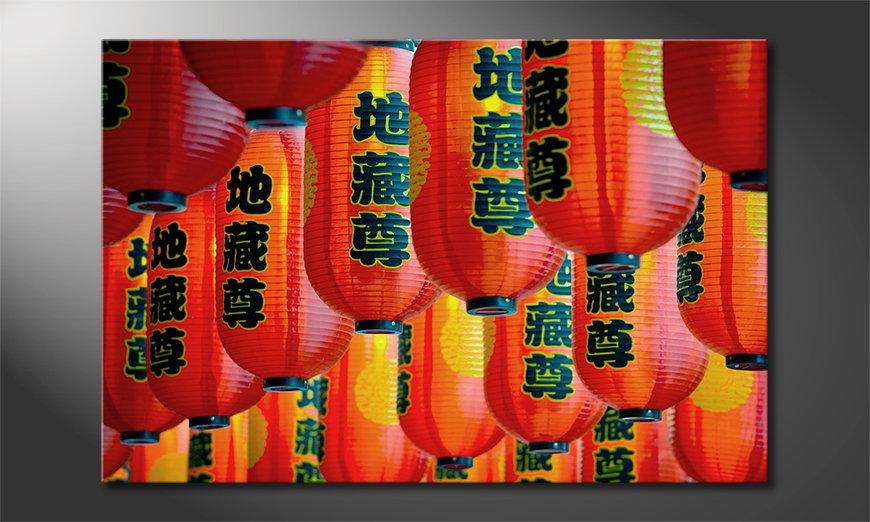 El cuadro moderno Chinatown
