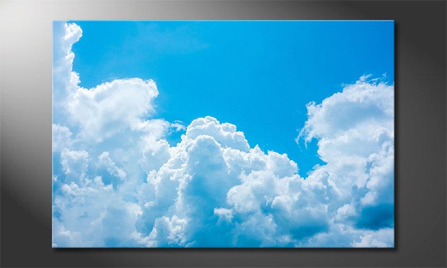 El cuadro moderno Clouds