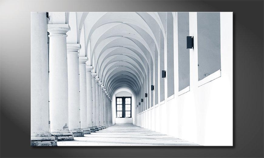 El cuadro moderno Columns Gallery