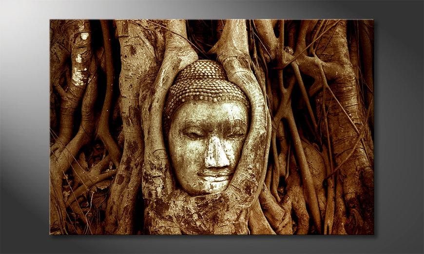 El cuadro moderno Deep Rooted