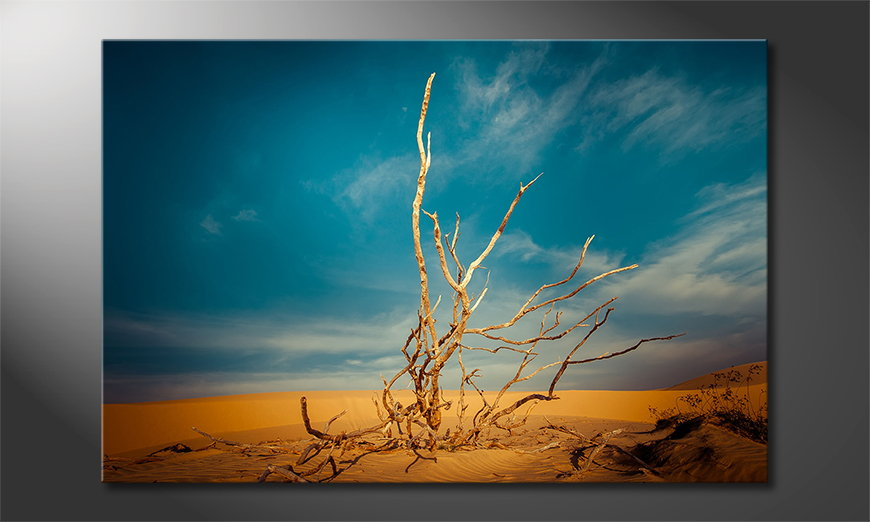 El cuadro moderno Desert Landscape