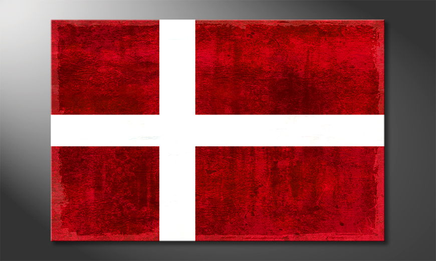 El cuadro moderno Dinamarca