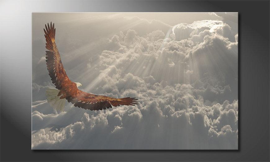 El cuadro moderno Eagle Flight